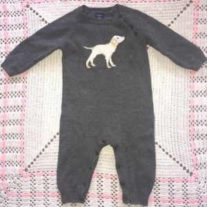 Gap | Sweater Onesie, Baby Boy's 6-12M